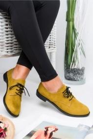 Pantofi Awon 50001HRS Mustar