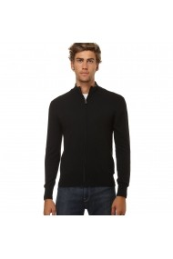 Cardigan William de Faye WFM53 Negru
