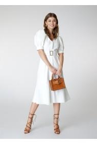 Rochie Alina Cernatescu Bell Classic White