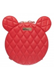 Geanta casual Margee Aime Red Quilted Rosie