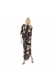 Rochie lunga Butterfly Multicolor