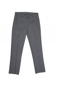 Pantaloni skinny dama Lewo din stofa de lana gri