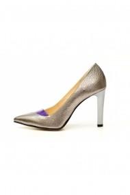 Pantofi cu toc Thea Visconti P-404/18/949 piele laminata