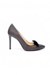 Pantofi cu toc Thea Visconti 125-19-949 Dungi