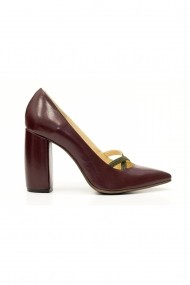 Pantofi cu toc Thea Visconti 408-18-949 Bordo