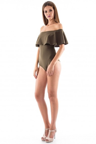 Body Roh Boutique pe umeri - BR1095 khaki