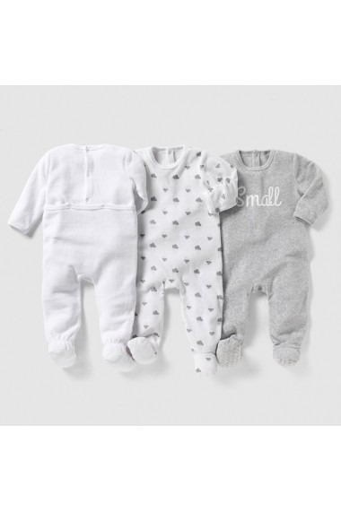 Set 3 pijamale baieti R edition LRD-7240651 gri