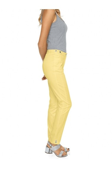 Pantaloni skinny Ashley Brooke 006972 galben - els