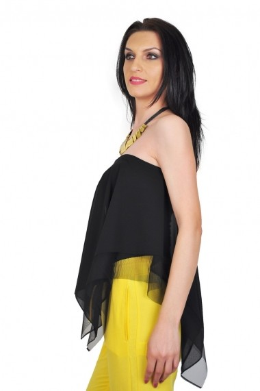 Bluza RVL Fashion dama Enjoy Life - negru