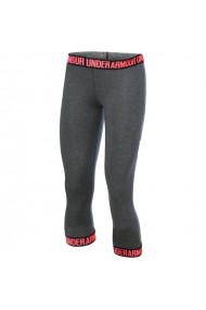 Pantaloni sport pentru femei Under armour  Favorite Word Mark 3/4 W 1287130-090