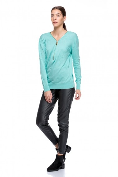 Pulover Lashez Outwear Two 41 - Mint