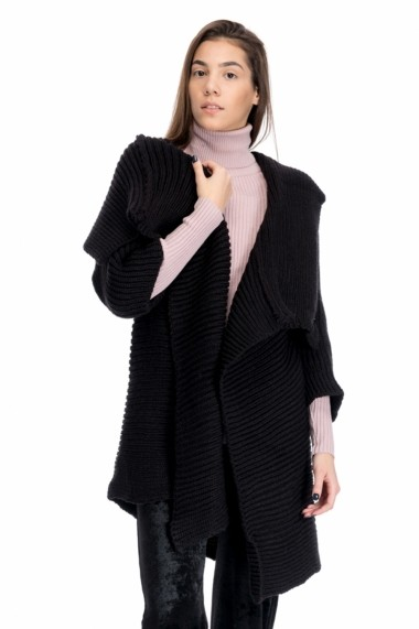 Pulover Lashez The Autumn Two 49 - Negru