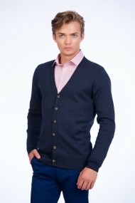 Cardigan Be You 0648 bleumarin