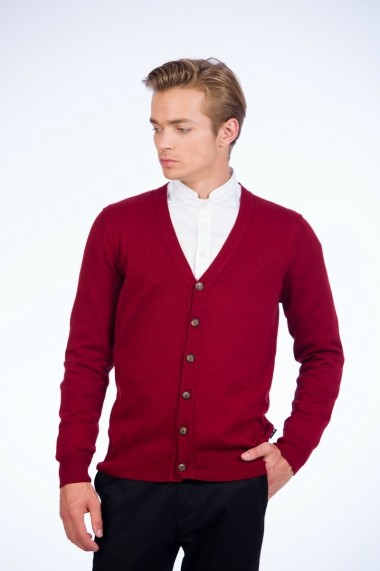Cardigan Be You 0648 bordo