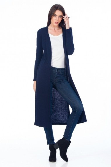 Cardigan Be You 0658 bleumarin