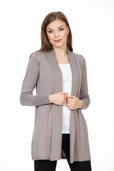 Cardigan BE YOU 0672 Bej