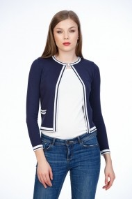 Cardigan BE YOU 0684 Bleumarin