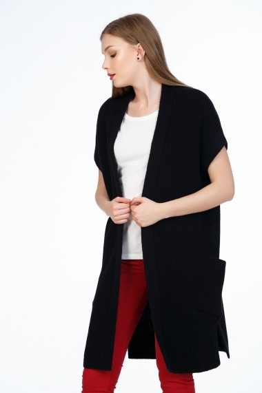 Cardigan Be You 0701 negru