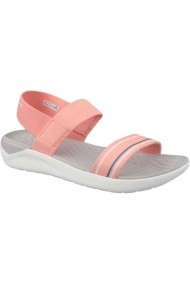 Sandale pentru femei Crocs  LiteRide Sandal W 205106-6KP pomarańczowe