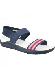 Sandale pentru femei Crocs  LiteRide Sandal W 205106-97W granatowe