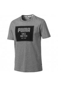 Tricou pentru barbati Puma  Rebel Block Basic Tee M szara 852395 03