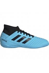 Pantofi sport pentru copii Adidas  Predator 19.3 IN JR G25807 niebieskie