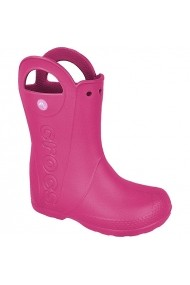 Cizme pentru copii Crocs  Handle It Kids 12803 różowe