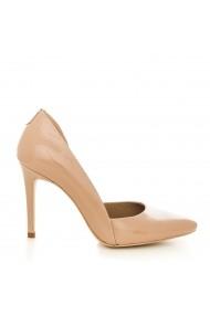 Pantofi cu toc CONDUR by alexandru 1400-lac nude