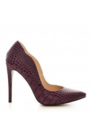 Pantofi cu toc CONDUR by alexandru 1501 mov