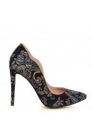 Pantofi cu toc CONDUR by alexandru 1501-sal bleumarin