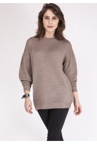 Pulover Mkmswetry Multicolor atrix SWE 097 Mocca