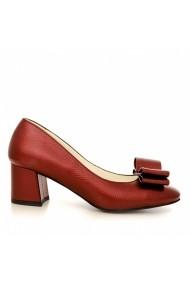 Pantofi cu toc CONDUR by alexandru 1606 bordo
