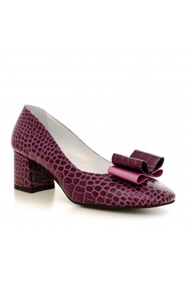 Pantofi cu toc CONDUR by alexandru 1606 mov
