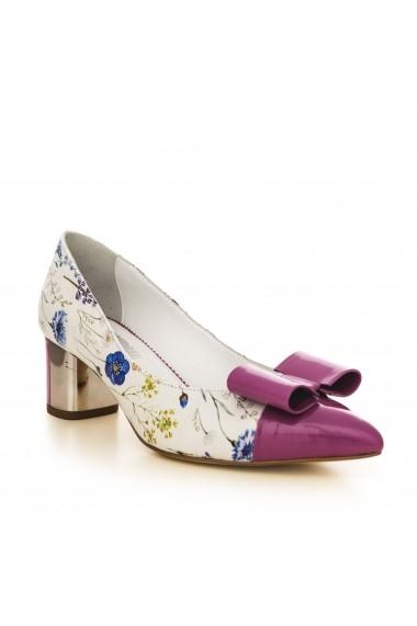 Pantofi cu toc CONDUR by alexandru 1706 lila