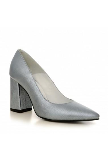 Pantofi cu toc CONDUR by alexandru 1710 gri