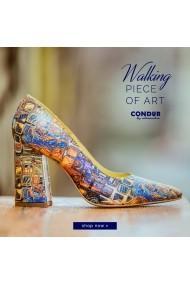 Pantofi cu toc CONDUR by alexandru 1710 gaudi