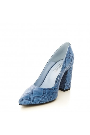 Pantofi CONDUR by alexandru 1710-presaj albastru