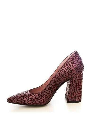 Pantofi CONDUR by alexandru 1710-presaj bordo t25