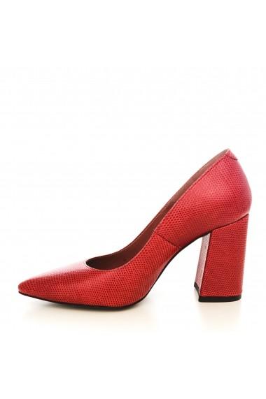 Pantofi CONDUR by alexandru 1710-presaj rosu