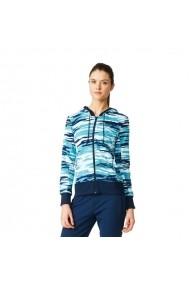 Bluza pentru femei Adidas  Essentials Hoody All Over Print W AY4877