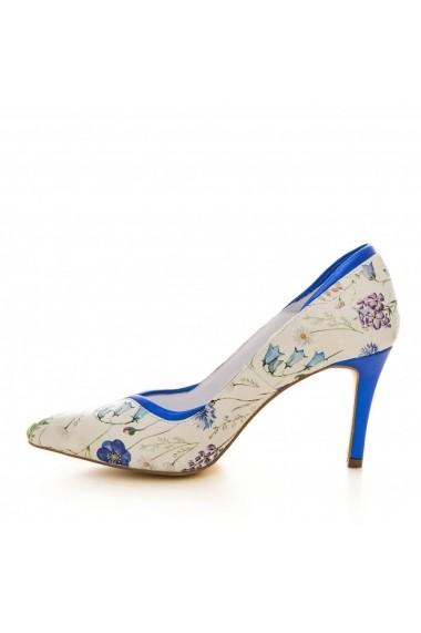 Pantofi cu toc CONDUR by alexandru 1804 flori