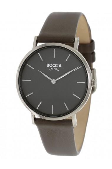 Ceas Boccia 3273-01, carcasa titan, 36mm