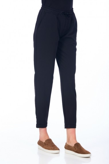 Pantaloni largi Be You 3311 bleumarin