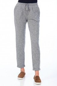 Pantaloni largi Be You 3311B gri deschis