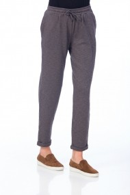 Pantaloni Be You 3311B gri inchis