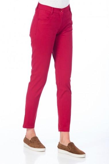 Pantaloni drepti Be You 3315 rosu