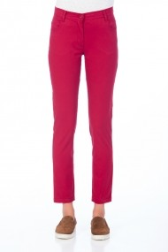 Pantaloni drepti Be You 3315 rosu