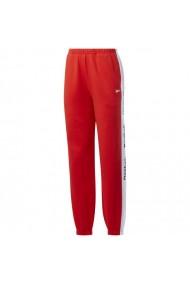 Pantaloni sport pentru femei Reebok  Te Linear Logo Fl P W FT0905
