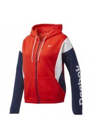 Bluza pentru femei Reebok  Training Essentials Linear Logo FL Fullzip W FT0904