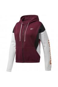 Bluza pentru femei Reebok  Te Linear Logo Fl F Maroon W FU2189